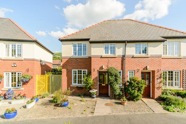 Thumbnail Semi-detached house for sale in Hazel Close, Trewern, Welshpool