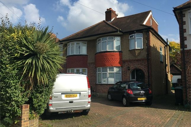 Thumbnail Semi-detached house for sale in Meadowview Road, West Ewell, Epsom