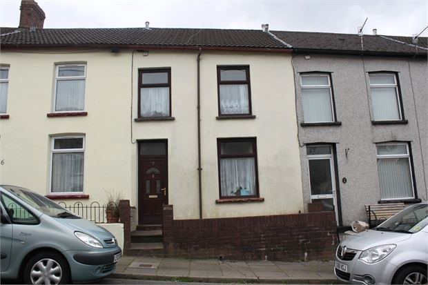 Thumbnail Terraced house for sale in Vale View, Penygraig, Tonpandy, Rhondda Cynnon Taff.