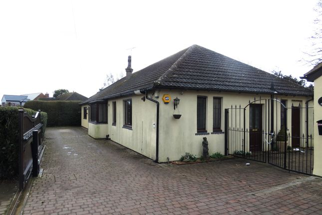 Thumbnail Detached bungalow for sale in Spinney Lane, Kettering