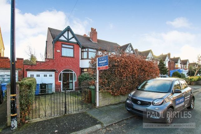 Thumbnail Semi-detached house to rent in Carrsvale Avenue, Urmston, Manchester