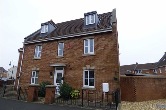 Thumbnail Semi-detached house for sale in Merton Drive, Weston-Super-Mare