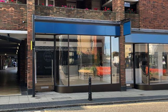 Thumbnail Retail premises to let in 25 High Street, St Albans, East Of England