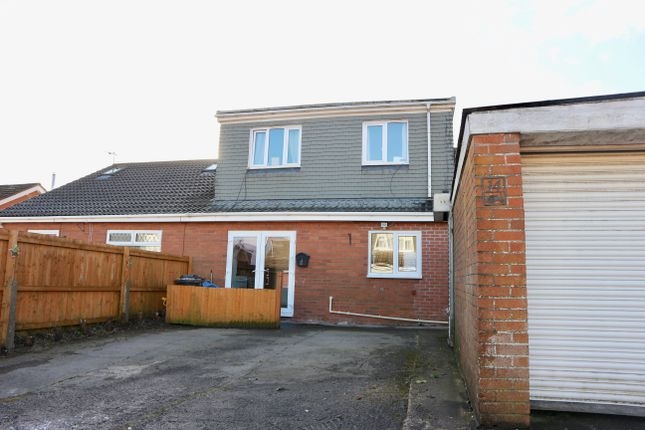 Thumbnail Semi-detached house for sale in Pembroke Close, Castle Park, Merthyr Tydfil