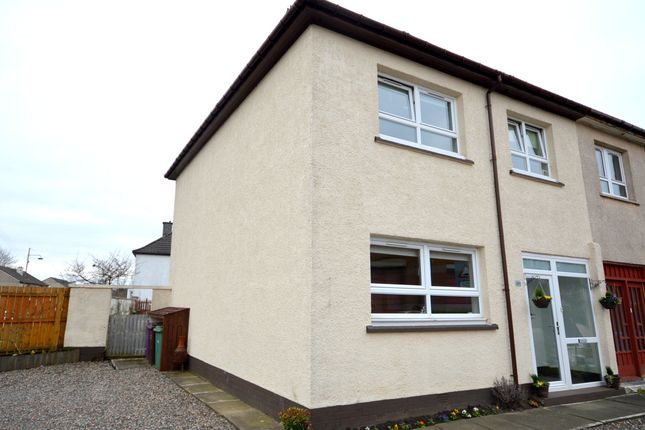 Thumbnail End terrace house for sale in Halley Street, Glasgow