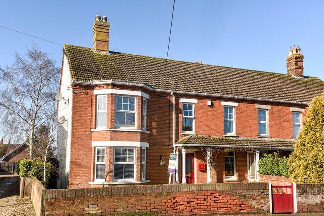 Thumbnail Semi-detached house for sale in Dereham Road, Watton, Thetford