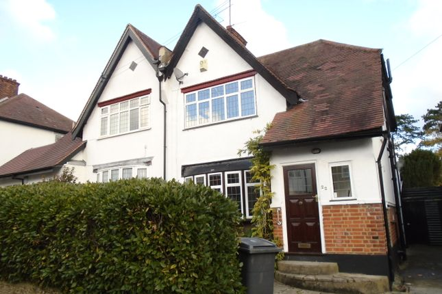 Thumbnail Semi-detached house to rent in Highland Road, New Barnet