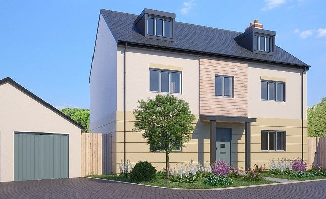 Thumbnail Detached house for sale in The Croker, Greenspire, Clyst St Mary, Exeter, Devon