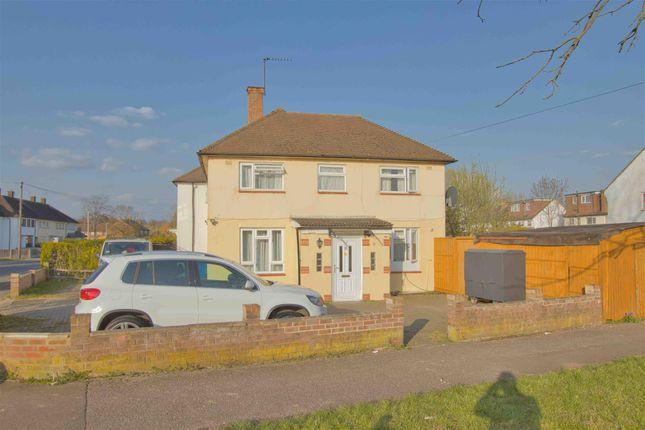 Thumbnail 4 bed semi-detached house to rent in Rossington Avenue, Borehamwood