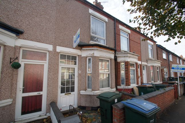 Thumbnail Terraced house to rent in Hollis Road, Coventry