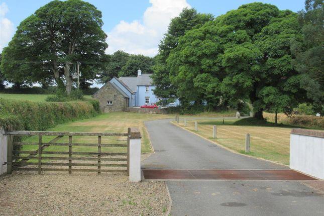 Thumbnail Farm for sale in Ysguborwen, (Nr Newport), Felindre Farchog, Crymych, Pembrokeshire