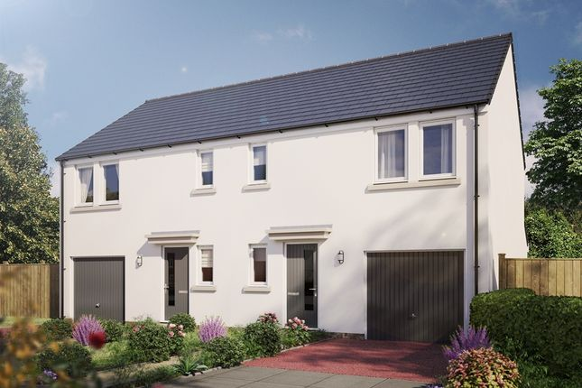 "Thumbnail Semi-detached house for sale in ""The Newton"" at Stable Gardens, Galashiels"