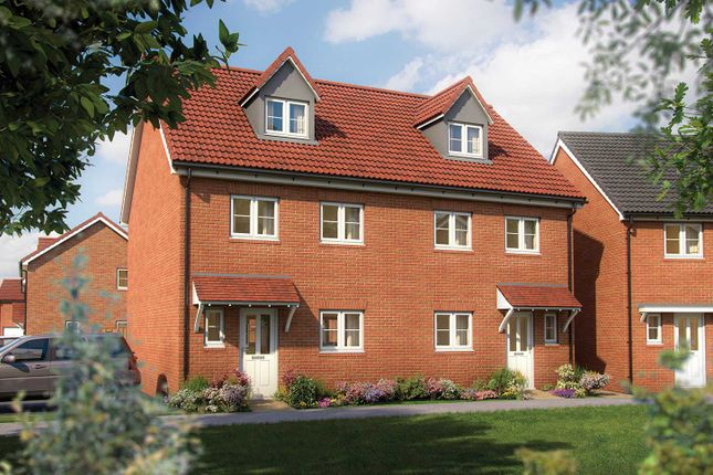 "4 bed terraced house for sale in ""The Aldridge"" at Rudloe Drive Kingsway, Quedgeley, Gloucester GL2"