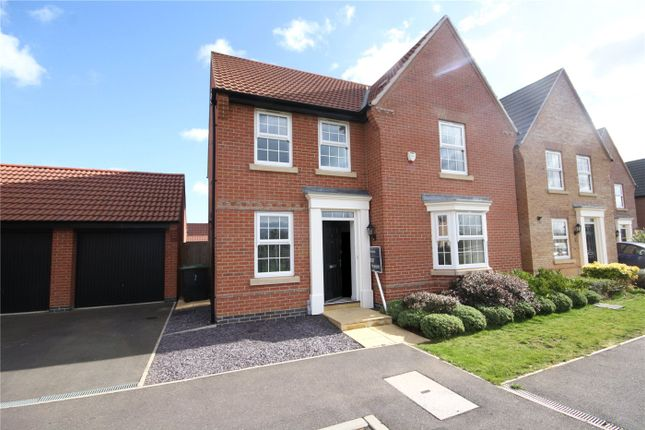Thumbnail Detached house to rent in Selemba Way, Greylees, Sleaford, Lincolnshire
