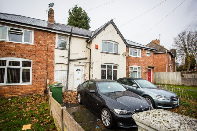 Thumbnail Terraced house for sale in Kent St, Walsall