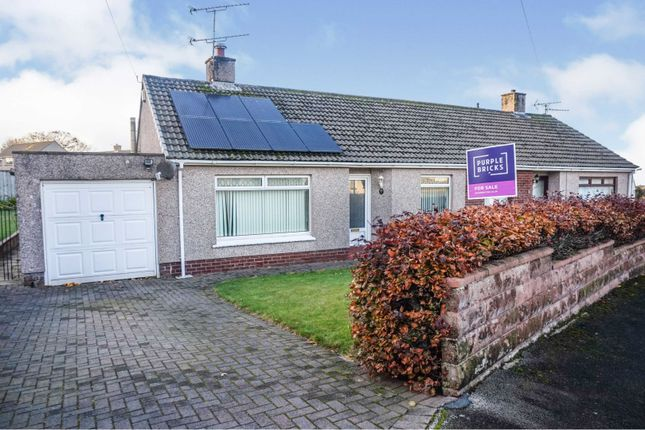 Thumbnail Detached bungalow for sale in Broadacres, Workington