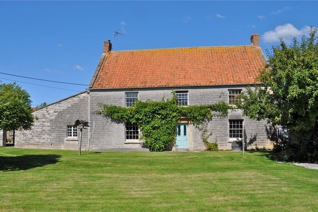 Thumbnail Farmhouse for sale in Lower Godney, Wells