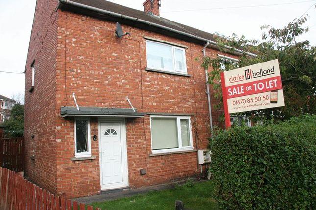 Thumbnail Semi-detached house for sale in Waverley Avenue, Bedlington