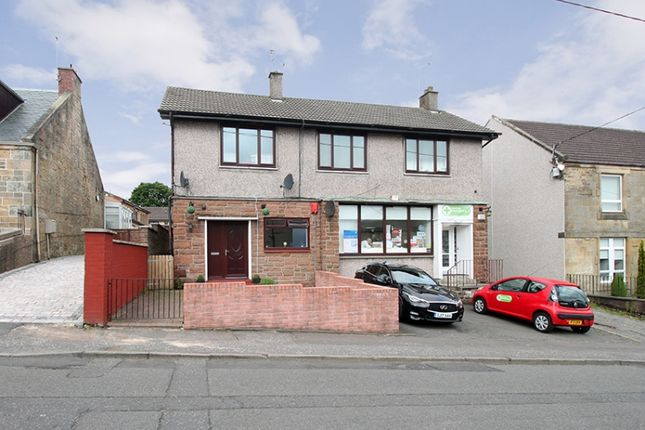 Thumbnail Flat for sale in Cross Brae, Shieldhill, Falkirk
