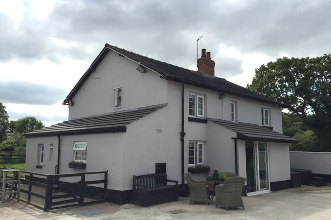 Thumbnail Detached house for sale in Willaston Road, Demby Farm House, Wirral