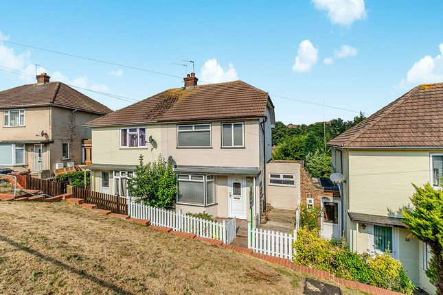 Thumbnail Semi-detached house to rent in Windward Road, Rochester