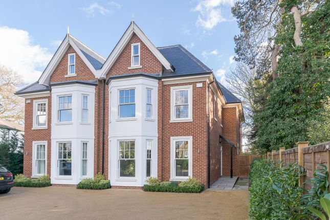 Thumbnail Semi-detached house for sale in Oatlands Drive, Weybridge