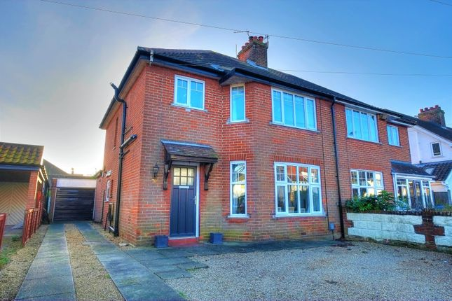 Thumbnail Semi-detached house for sale in Brian Avenue, Norwich