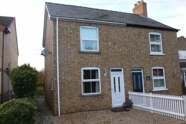 3 bed semi-detached house to rent in Church Lane, Doddington, March PE15
