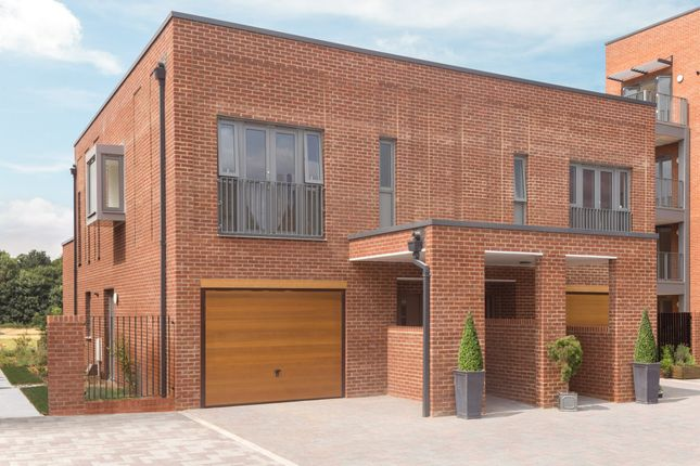 "Thumbnail Semi-detached house for sale in ""Villa"" at Hauxton Road, Trumpington, Cambridge"