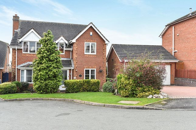 Thumbnail Detached house for sale in Grizedale Close, Burton-On-Trent