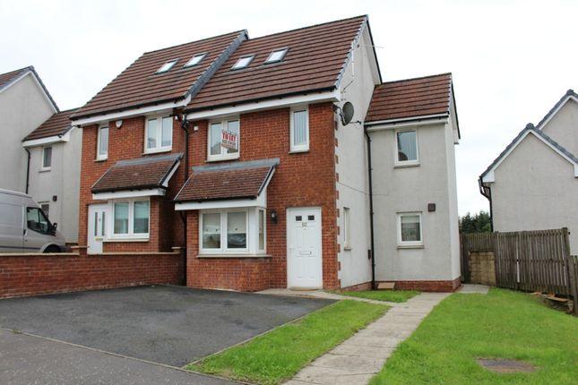 Thumbnail Semi-detached house to rent in Millgate Crescent, Caldercruix, North Lanarkshire