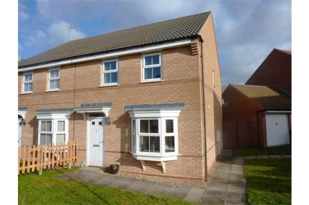 3 bed semi-detached house to rent in Browning Close, Rushden NN10