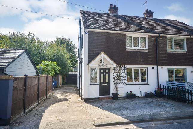 Thumbnail Semi-detached house for sale in Lower Road, River, Dover, Kent