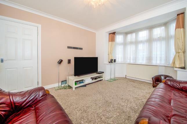 Reception Room of Rosemary Avenue, London N9