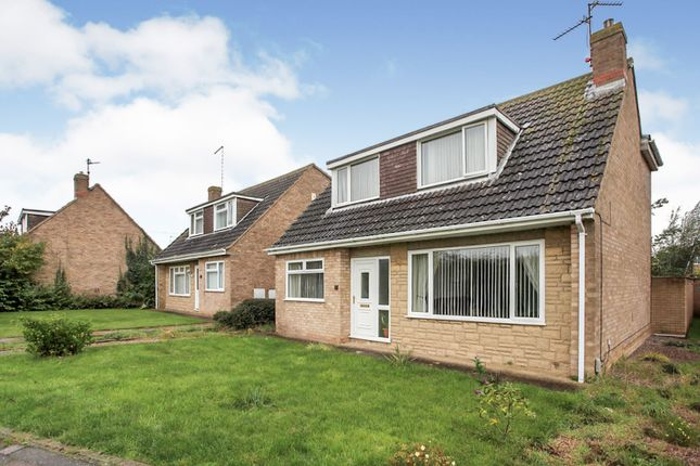 Thumbnail Detached bungalow for sale in Elter Walk, Gunthorpe, Peterborough