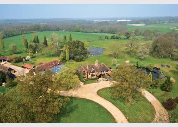 Thumbnail Detached house for sale in Okewood Hill Estate, Horsham Road, Wallis Wood, Surrey