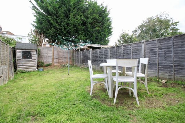 Garden of Brentwood Crescent, Southampton SO18
