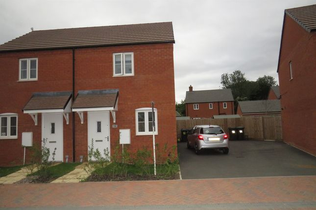 Thumbnail Semi-detached house for sale in The Lawns, Cranfield, Bedford