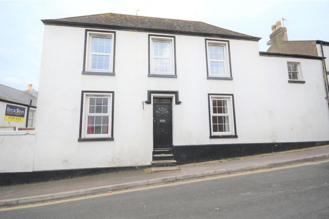 Thumbnail End terrace house for sale in Exeter Street, Teignmouth, Devon