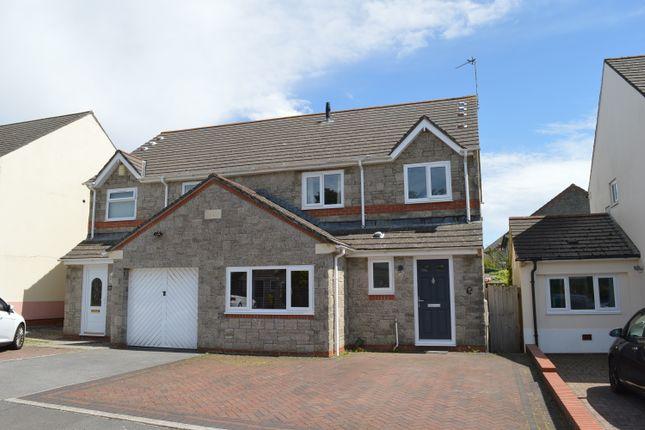 Thumbnail Semi-detached house to rent in Clos Ogney, Llantwit Major