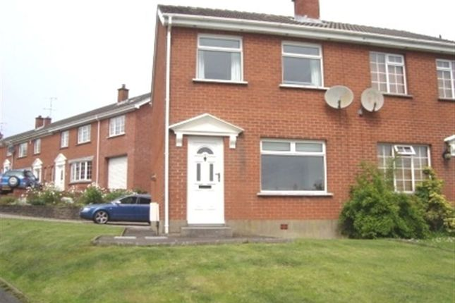 Thumbnail Semi-detached house to rent in Muskett Avenue, Carryduff, Belfast