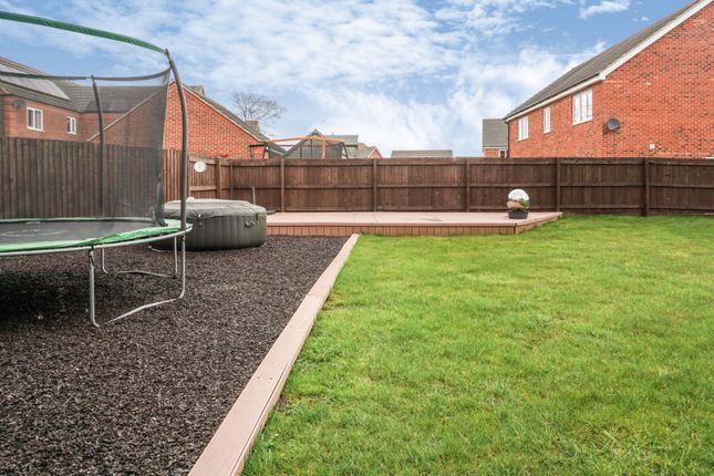 Rear Garden of Bosworth Way, Leicester Forest East LE3