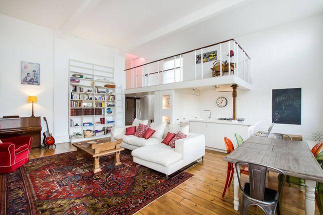 Thumbnail Flat to rent in Burns Road, Battersea