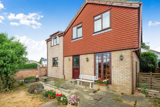 Thumbnail Detached house for sale in Meadow Close, Thurlton, Norwich