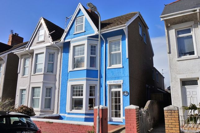 Thumbnail Semi-detached house for sale in 54 Victoria Avenue, Porthcawl, Bridgend, Bridgend County.