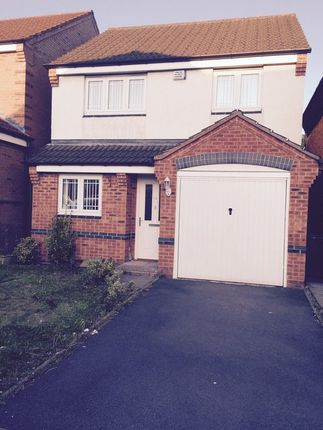 Thumbnail Detached house to rent in Aster Way, Walsall