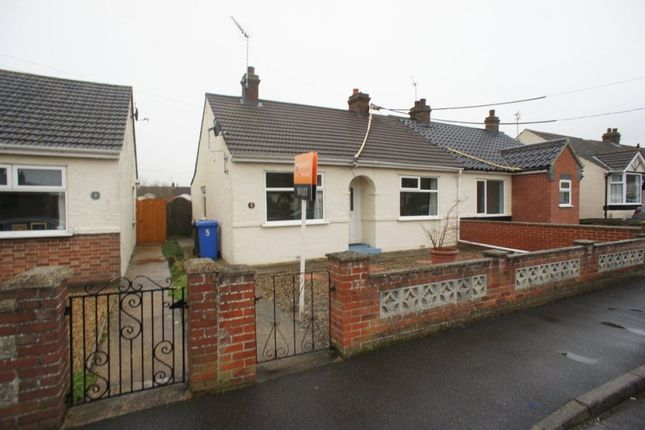 Thumbnail Bungalow to rent in Beech Road, Carlton Colville, Lowestoft