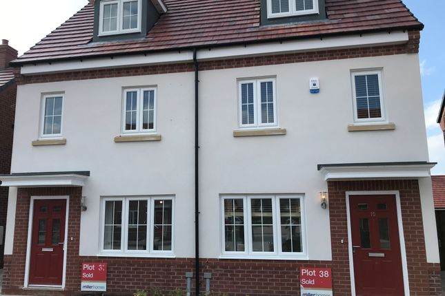 3 bed semi-detached house to rent in Frank Hughes Avenue, Wheelock, Sandbach, Cheshire CW11