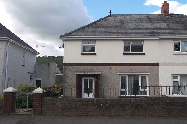 Thumbnail Semi-detached house to rent in Heol Y Berllan, Crynant, Neath
