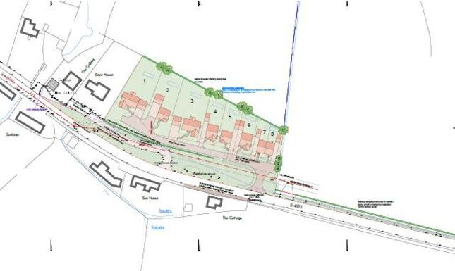 Thumbnail Land for sale in Crew Green, Shrewsbury